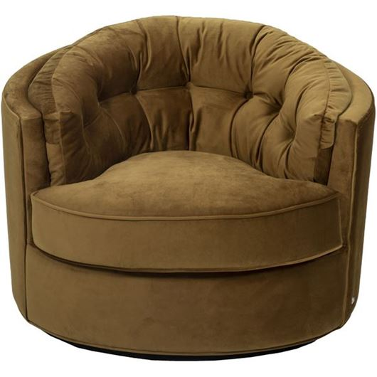 Picture of NIGHT armchair brown