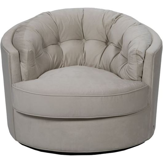 Picture of NIGHT armchair microfibre natural