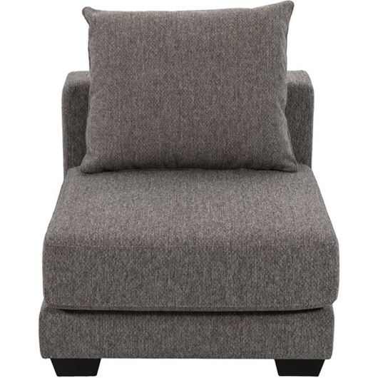 Picture of SPUD armless chair brown