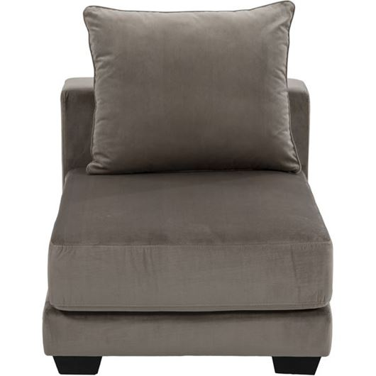 Picture of SPUD armless chair microfibre taupe
