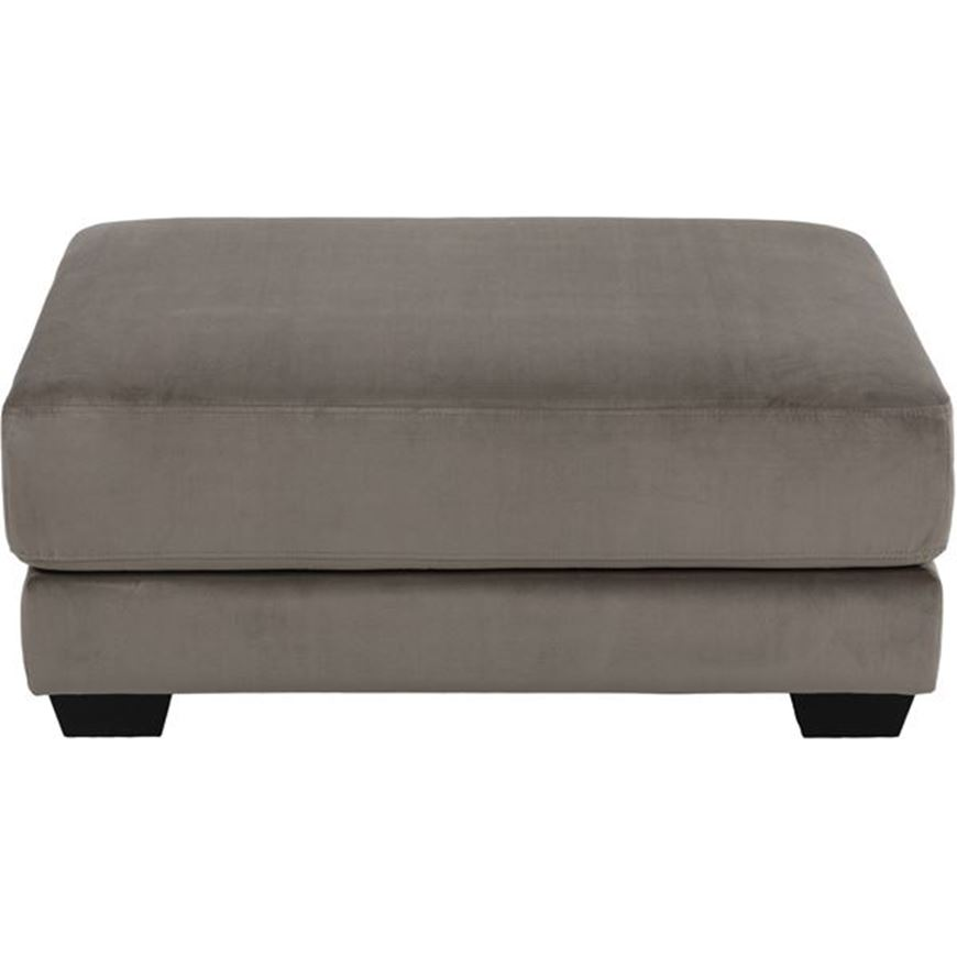Picture of SPUD footstool microfibre taupe