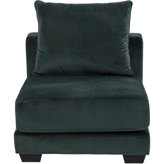 Picture of SPUD armless chair microfibre green