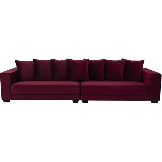 Picture of SPUD sofa U 5 microfibre red