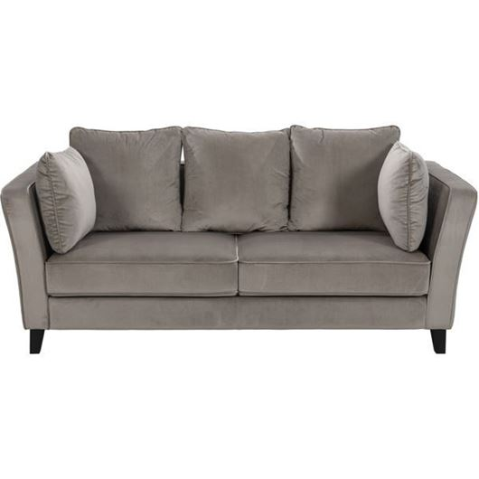 Picture of LOOS sofa 3 microfibre taupe