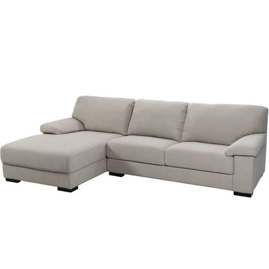 Picture of SAN sofa 2.5 + chaise lounge Left natural
