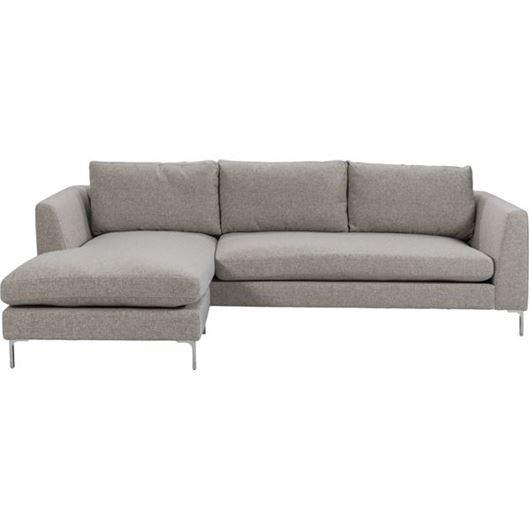 Picture of VITA sofa 2.5 + chaise lounge beige