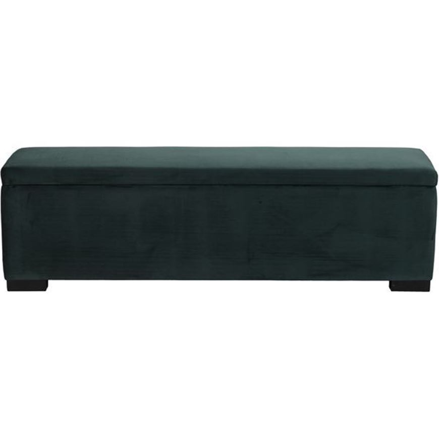 Picture of WINK stool 160x40 microfibre green