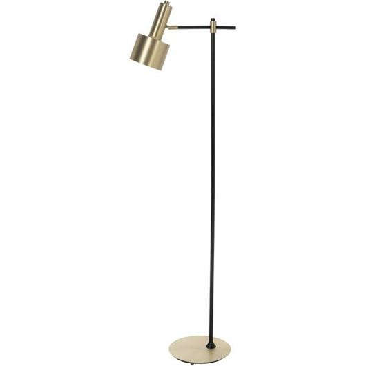 Picture of ALTEN floor lamp h164cm black/gold
