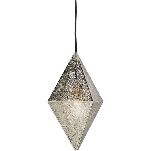 Picture of DIAMOND pendant lamp d35cm stainless steel