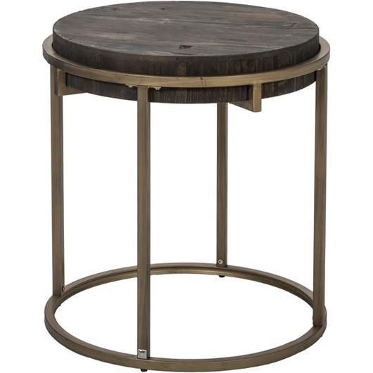 Picture of PAVS side table d55cm grey/gold