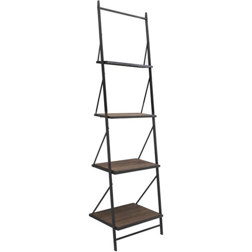Picture of MAR bookcase 210x61 black