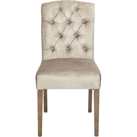 Picture of FEX dining chair beige/taupe