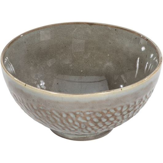 Picture of MACIE bowl d17cm grey