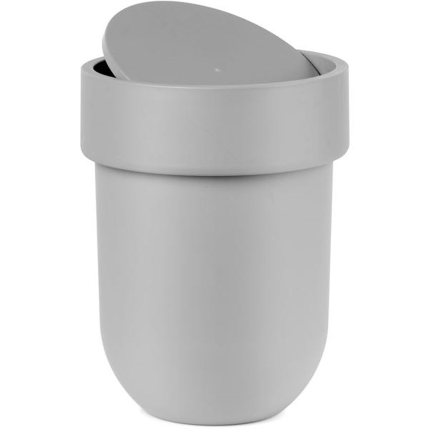 Picture of TOUCH waste can with lid black