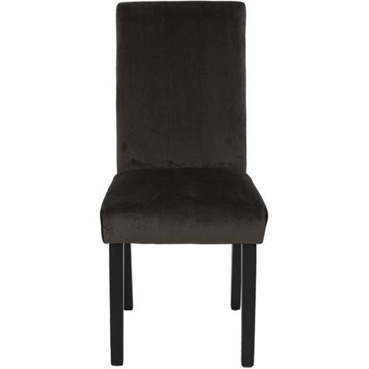 Picture of REBO dining chair brown/black