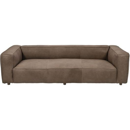 Picture of HOGARTH sofa 3.5 leather taupe