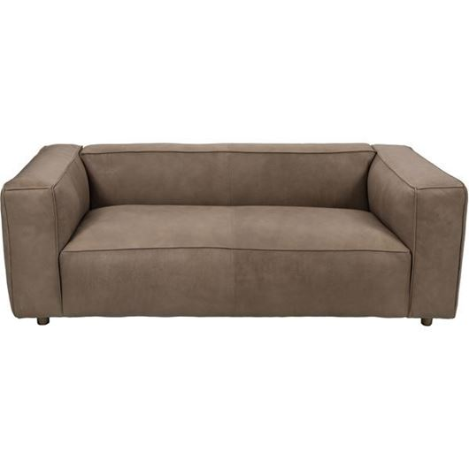 Picture of HOGARTH sofa 2.5 leather taupe