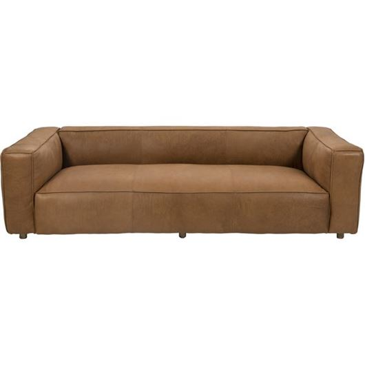 Picture of HOGARTH sofa 3.5 leather brown