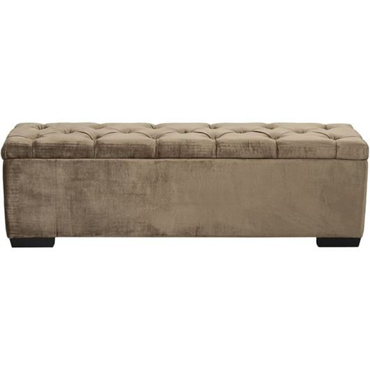 Picture of TURI stool 160x40 brown