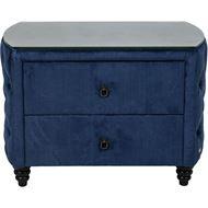 REM bedside table blue