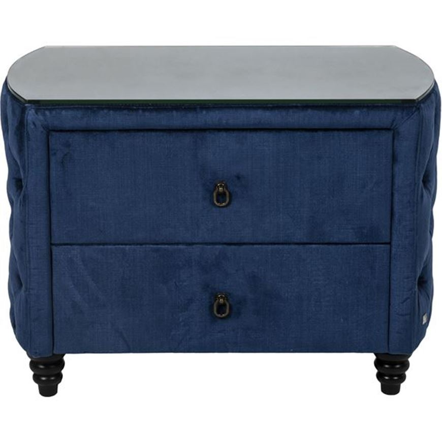 Picture of REM bedside table blue