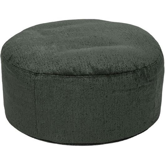 Picture of RUBY footstool d78cm green