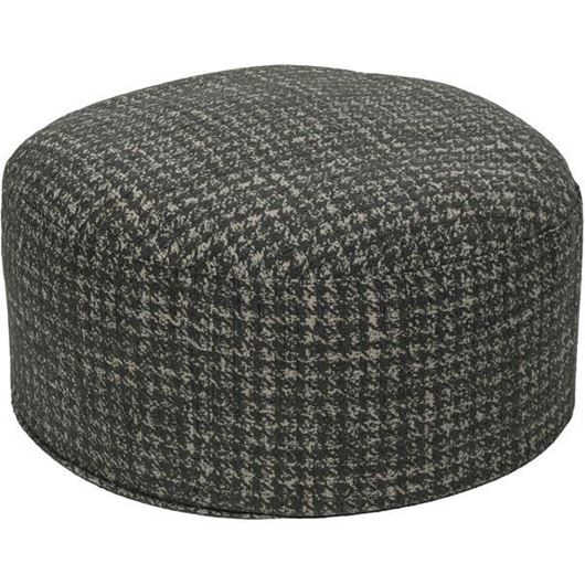 Picture of RUBY footstool d78cm dark green