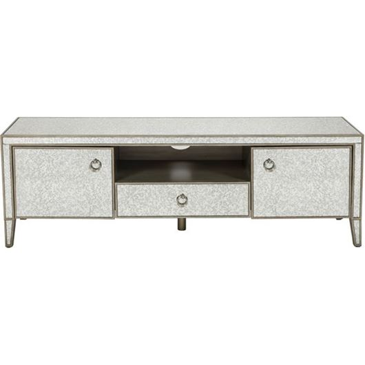 Picture of AVA entertainment unit 58x180 grey/gold