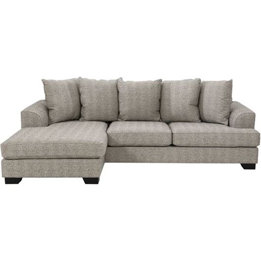 Picture of KINGSTON sofa 2.5 + chaise lounge Left brown