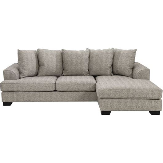 Picture of KINGSTON sofa 2.5 + chaise lounge Right brown