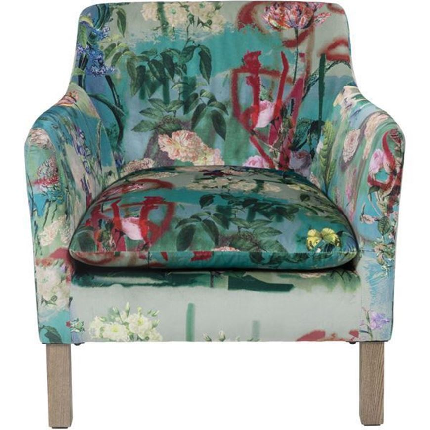 HARBOUR armchair blue