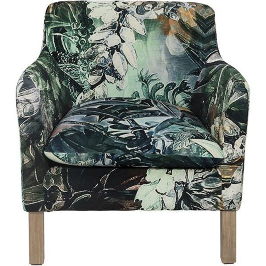 HARBOUR armchair black