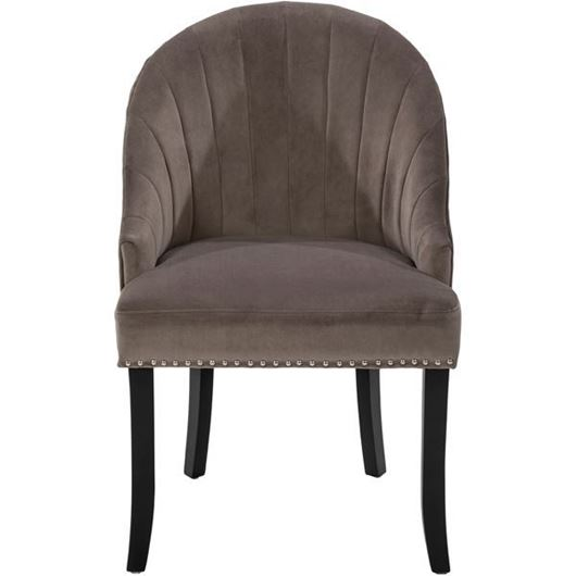 Picture of RAON dining chair grey/black