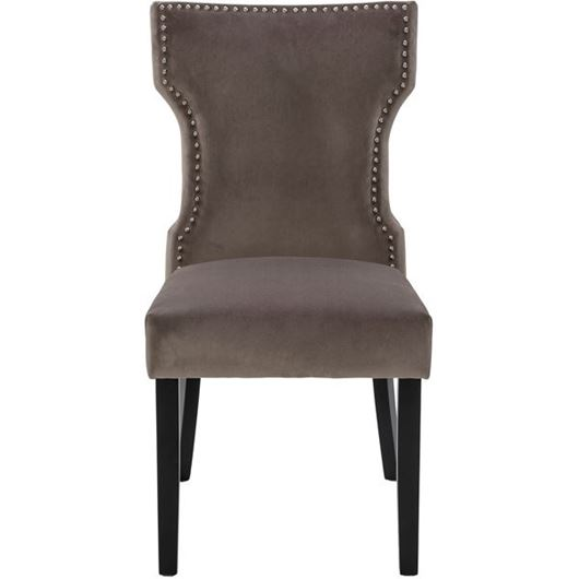 Picture of YALE dining chair grey/black
