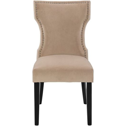 Picture of YALE dining chair beige/black