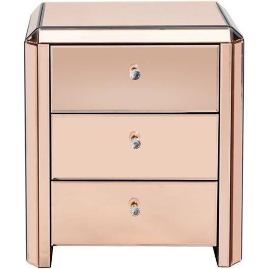 Picture of VERA bedside table pink