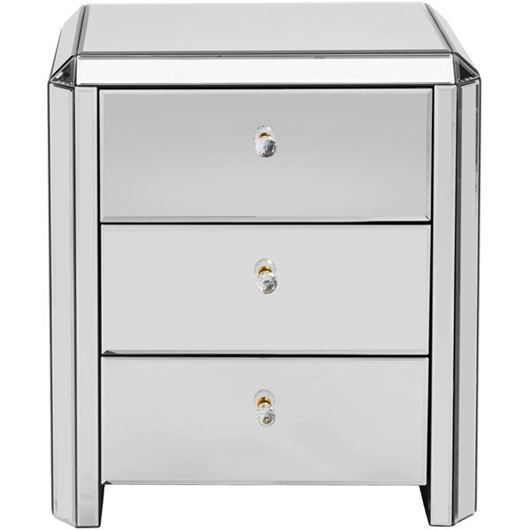Picture of VERA bedside table clear