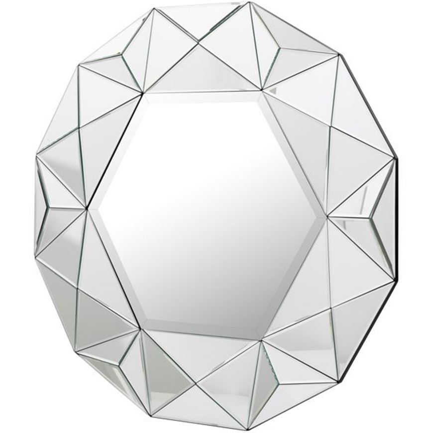 Picture of STAR 3 mirror d92cm clear