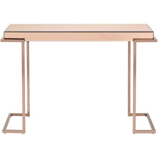 Picture of LUCA console 117x40 pink/copper