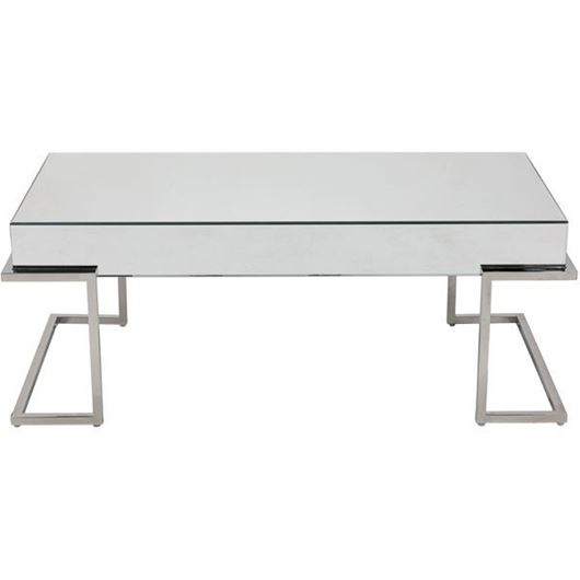 Picture of LUCA coffee table 120x60 clear/stainless steel