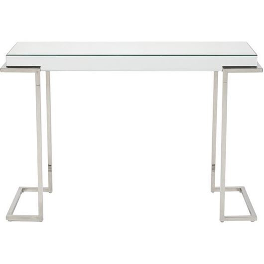 Picture of LUCA console 117x40 clear/stainless steel