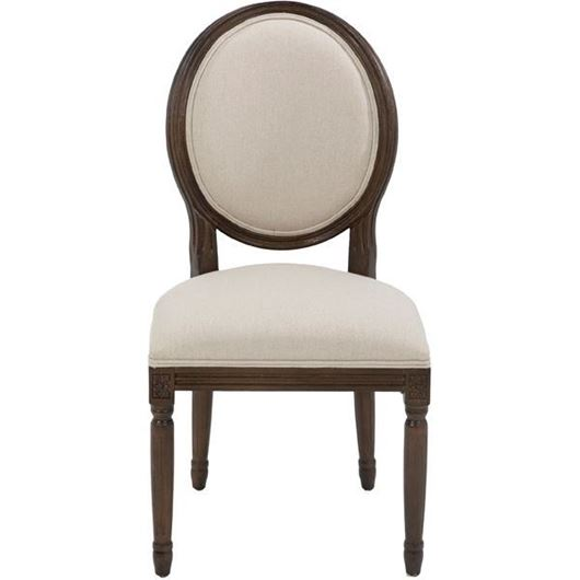 Picture of PARDO dining chair natural/brown