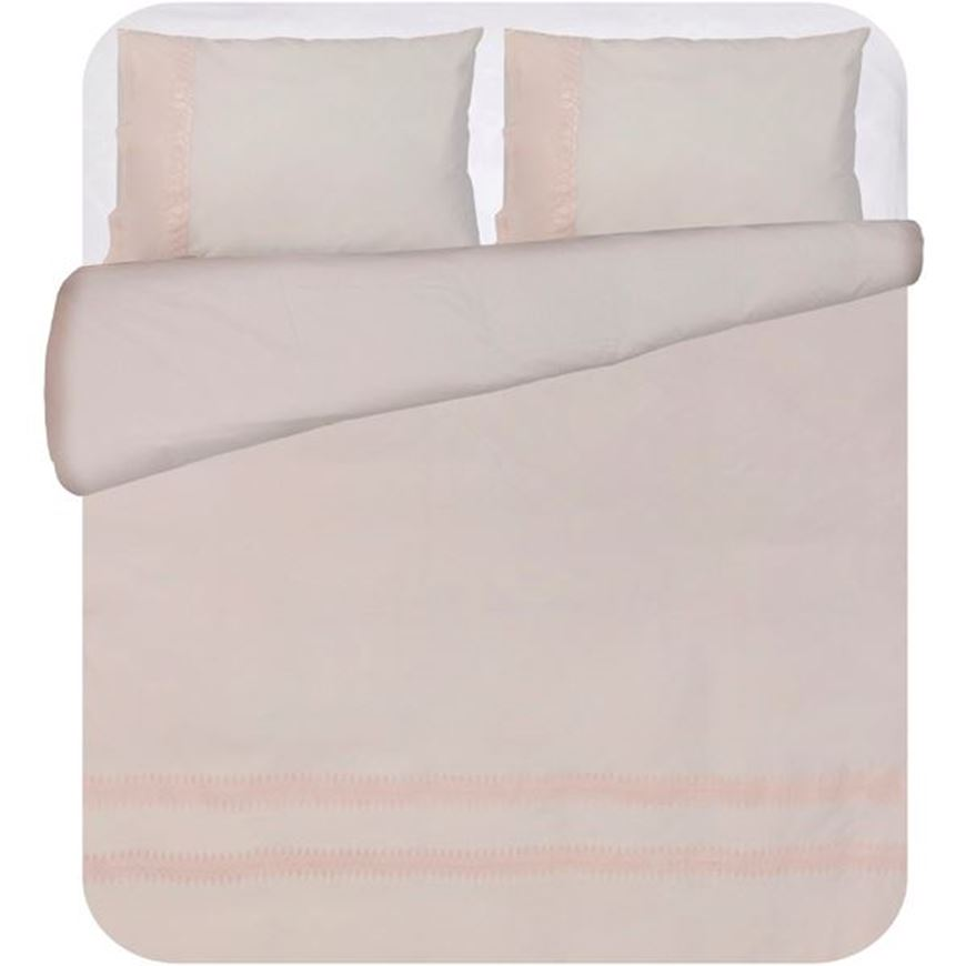 Picture of PETUNIA duvet cover set of 3 pink