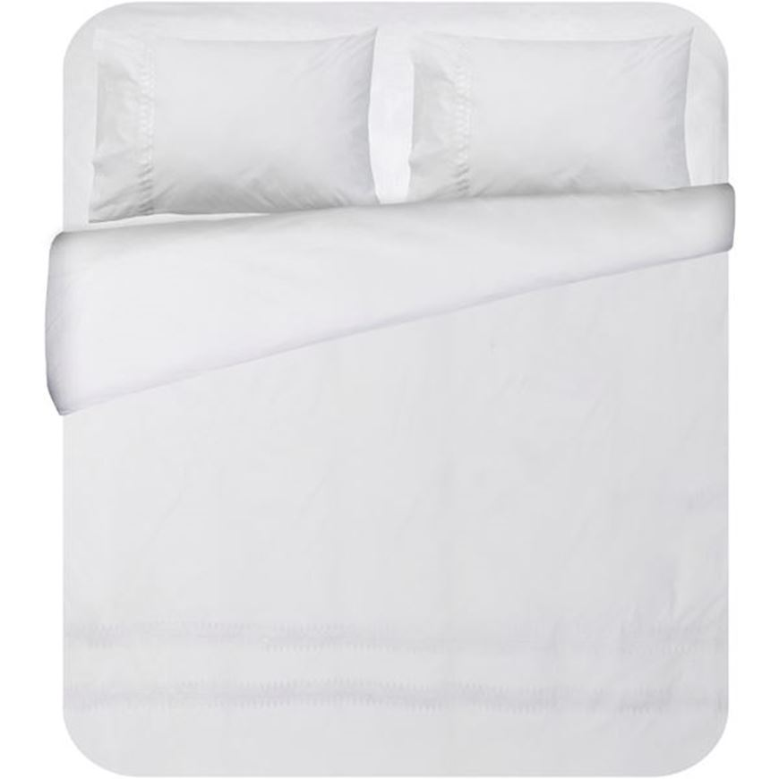 Picture of PETUNIA duvet cover set of 3 white