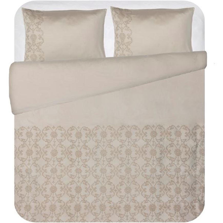 Picture of SCROLL duvet cover set of 3 grey