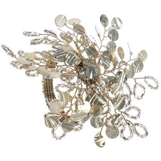 Picture of HEIDI napkin ring gold