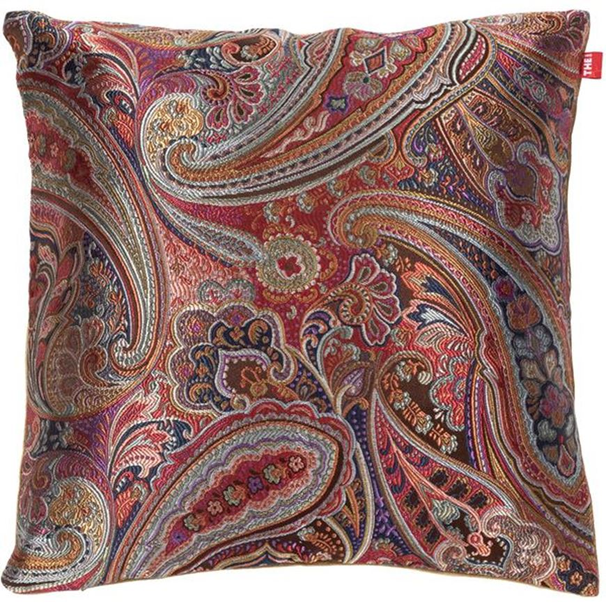 Picture of JENNA cushion cover 45x45 multicolour/red