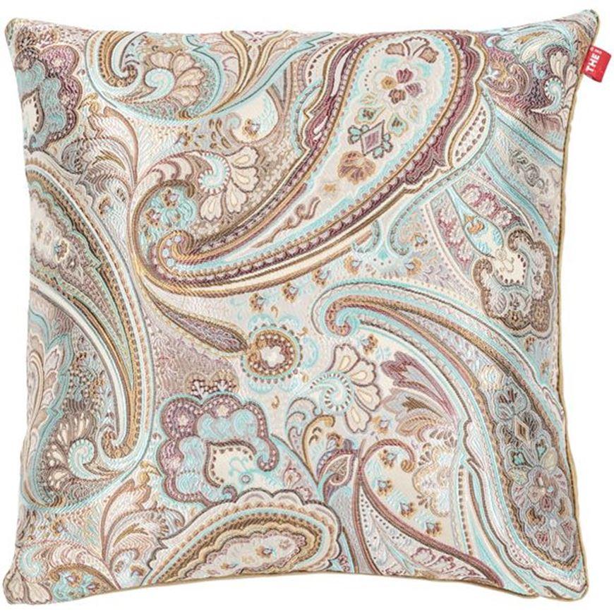 Picture of JENNA cushion cover 45x45 multicolour/white