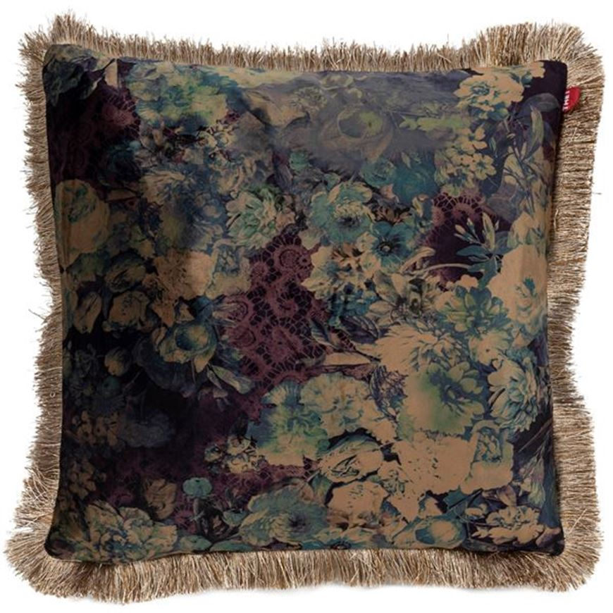 Picture of FLORA cushion cover 45x45 blue