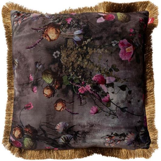 Picture of FLORA cushion cover 45x45 purple